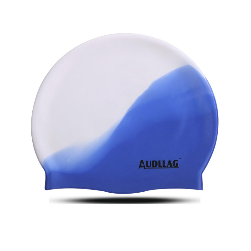 High quality novelty colorful silicone funny swim caps for adults (HS-201)