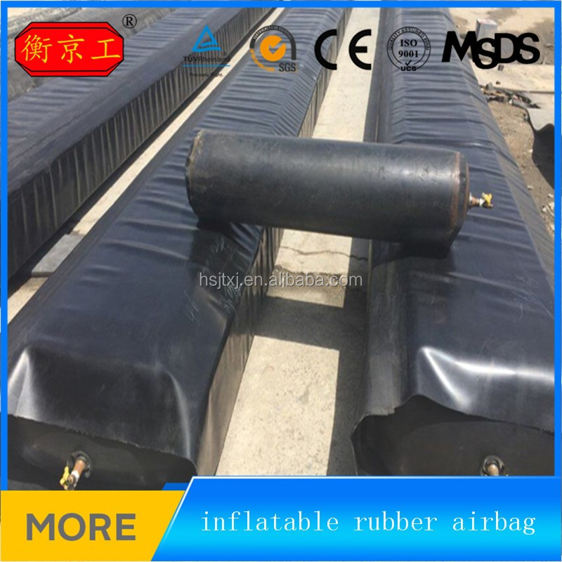 inflatable rubber materials concrete culvert moulding balloons