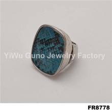 Wholesale jewelry rings made of stone women's finger ring