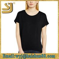 trendy design bulk custom blank t-shirt clothing,blank t shirt china wholesale