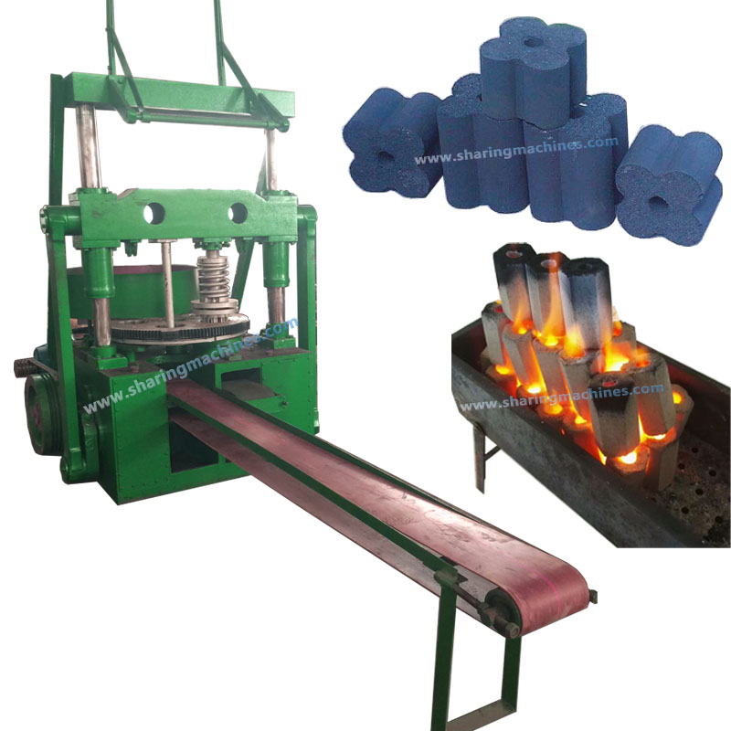 Big capacity coal/charcoal briquette brikets bricks blocks punch press making machine for hot-sale