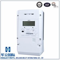 Convenient Installation Overload Detection Three Phase Prepaid Electric Meter