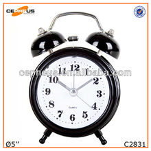 5 inch two bell ring alarm clock