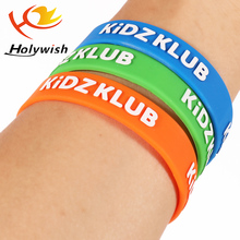 Silicone Bracelet with Custom Logo for Kids