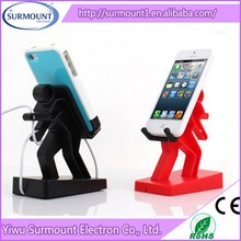 Factory Supply Cell Mate Boris Desktop Lazy mobile phone Holder for iphone 5s
