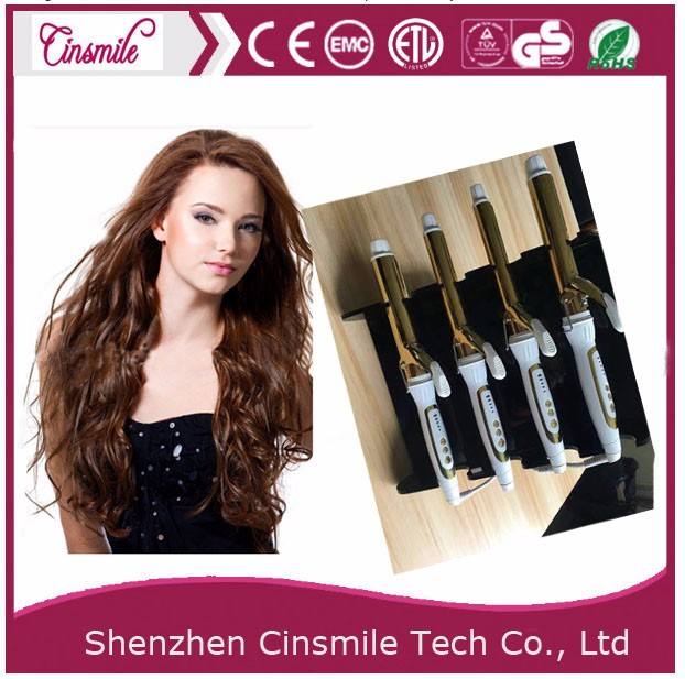 LED personal care products hair curling irons
