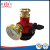 gas valve cylinder with gauge