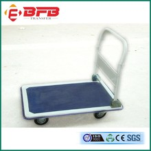 industrial foldable cargo heavy duty steel cart trolley