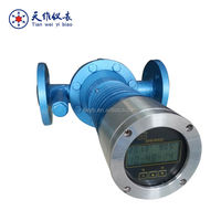 High temperature marine oil tank flow meter