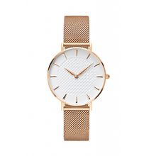 lowellis your logo custom women watches ladies women watches rose gold