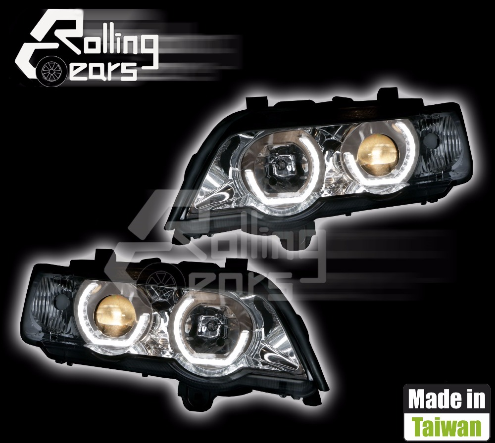 LED headlight assembly for for BMW E53 X5 3.0d 3.0i 4.4i 4.6is 4.8is V8 L6 M54 1999 2000 2001 2002 2003 Made in Taiwan