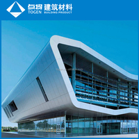 glass and aluminum and curtain wall
