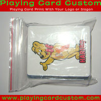 Custom Tiger Playing Cards