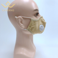 Breathable pm 2.5 anti fume face shield fitness sport mask with earloop