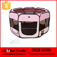 462716 600D Oxford Folding Pet Tent Playpen Dog Fence Puppy Kennel Folding Exercise Play