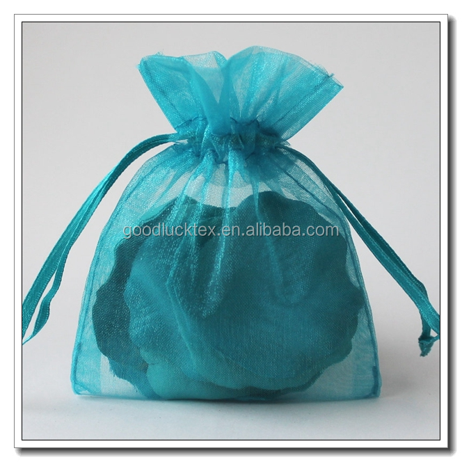 100% polyester organza/organza fabric for organza bag gift box