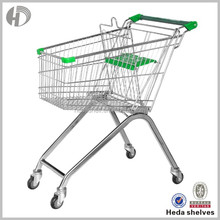 Made In China Stainless Steel Supermarket Push Cart