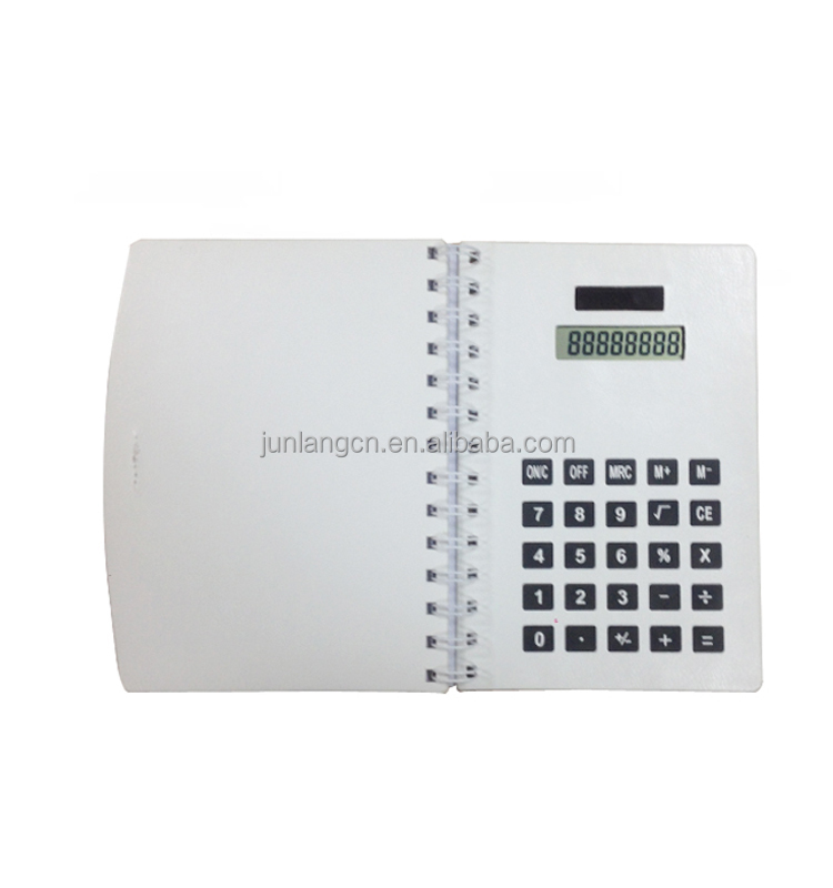 Promotional Gift Calculator Notebook Calculator Solar Cell