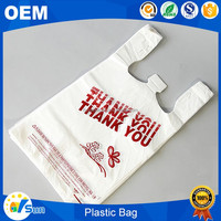 China SGS Verified Logo Printed Shopping Use Recyclable PE Plastic Bag Factory
