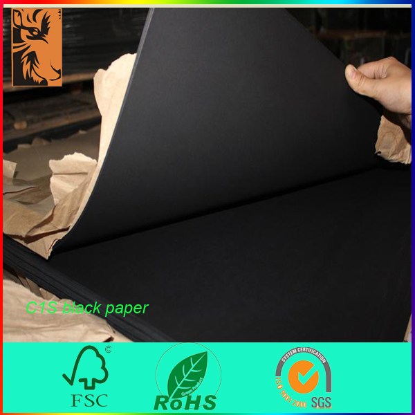 Best sale high quality recycled black card board