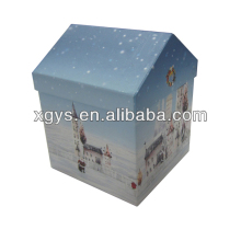 House Shape Gift Box For Christmas Series