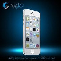 For iphone 5 screen protector tempered glass,Nuglas premium tempered glass screen guard