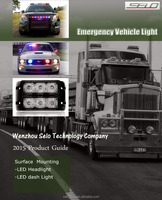 LED Emergency Vehicle Warning Lightbar with CE ISO9001 (DH-SFL212)