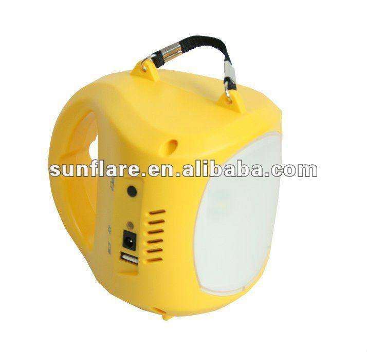 Solar Camping Lantern with 1W led lamp
