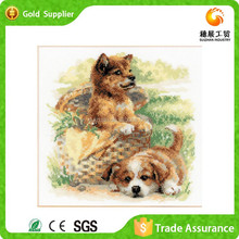 Popular Wall Decoration With Cute Animal Picture Cross Stitch 3D Diy Diamond Embroidery Kit