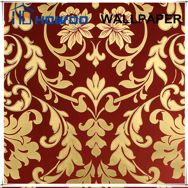 High-grade luxury interior gold wallpaper for palace/castle/villa