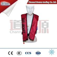 Marine Pfd Ce Certificate Inflatable Life Jacket New Product