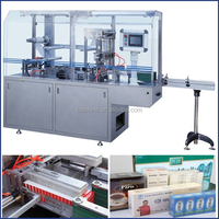 TMP 300E Automatic Three-Dimensional Tea Box Overwrapping Machine,Tea Box Packing Machine