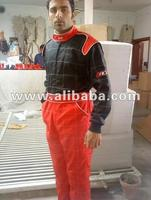 Red And Black Kart Racing Suit