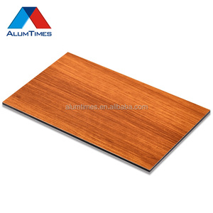 wood sheet paneling plastic aluminum composite panel