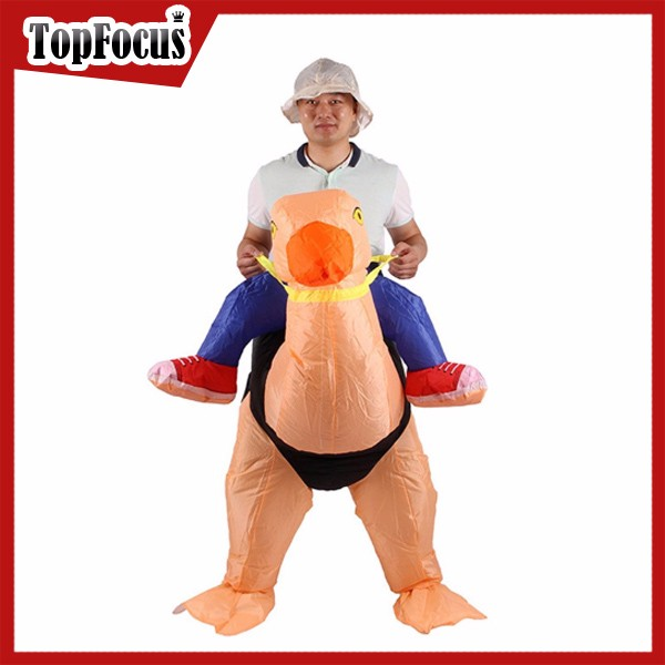 Well Designed customized inflatable costume horse