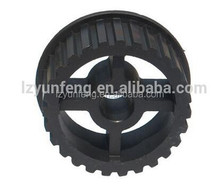 Timing belt pulley wheel for machine