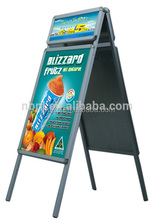 Advertising Poster Stand Flex 30x40 A frame board with header