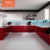 hot red mdf italian kitchen cabinet with kitchen cabinet dish rack