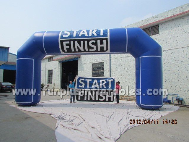 Hot sale cheap inflatable sports arch building P1016(1)
