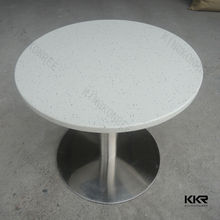Cutting fabric wholesale dining table ,solid surface dining table ,kfc table for sale