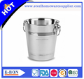 Entertainment pub bar use stainless steel ice bucket