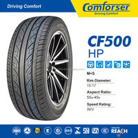 China suppliers COMFORSER Car tires passenger car tire tyre prices pakistan