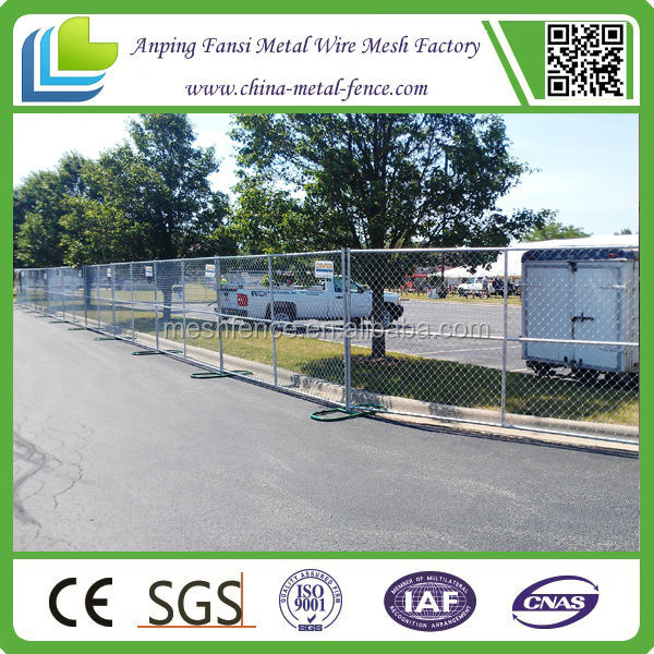 Hot dipped galvanized temporary security fence panels,cheap temporary pool fence panel,chain link temporary dog fence panels,
