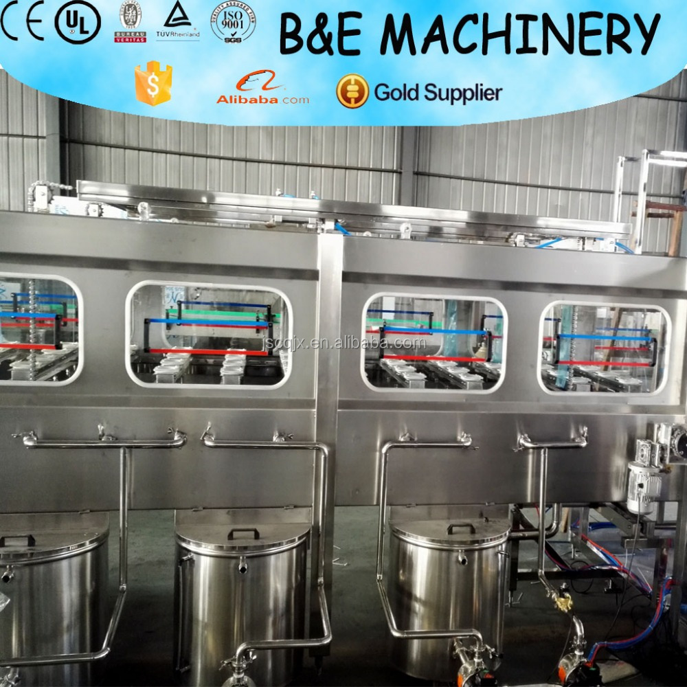 High quality automatic 3 gallon bottle making machine/5 gallon barrel water bottling equipment