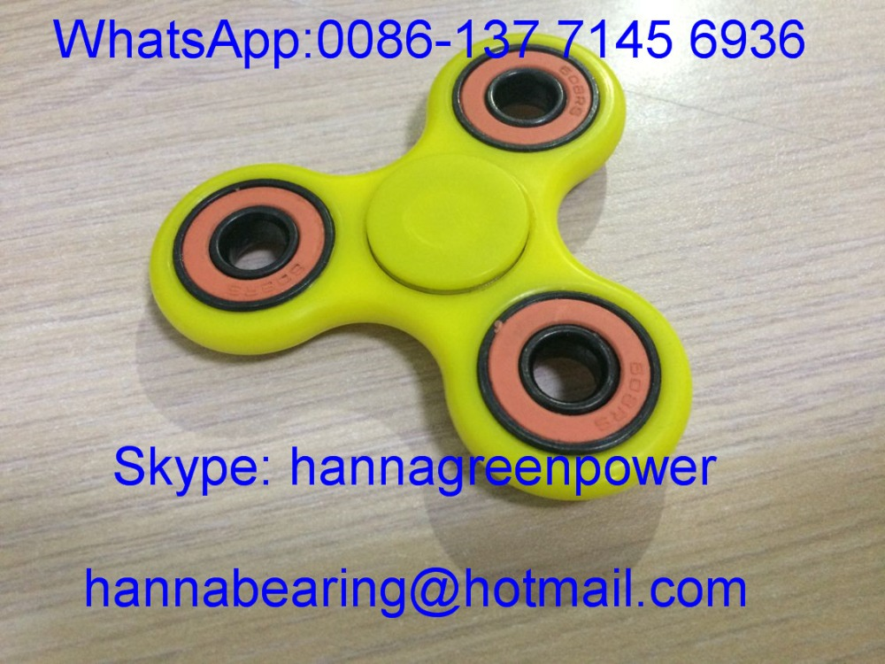 Tri Fidget Hand Spinner / Spinner Finger Toy with Ceramic Bearing 608RS