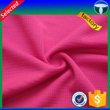 Soft polyester knitted single jersey bird eye fabric free samples