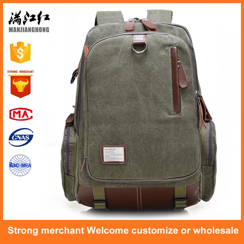 Brand new nylon backpack hidden compartment backpack