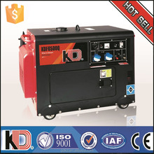 Small Power 2.5kva 3.75kva 5kva 8kva 9kva 12kva portable diesel generator for sale