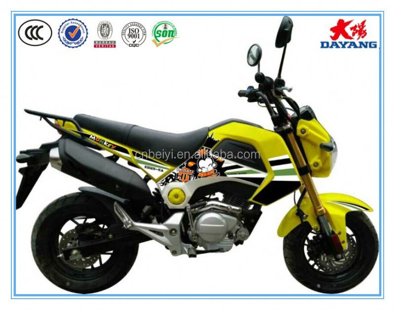 2016 china best selling 125cc Chongqing motorcycle blue/green/orange/yellow gasoline motorcycle for sale