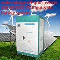 100KW wide voltage PV inverter 400-850VDC for off grid system no battery